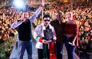 Gran éxito banda el mexicano en la Feria  de Guadalupe