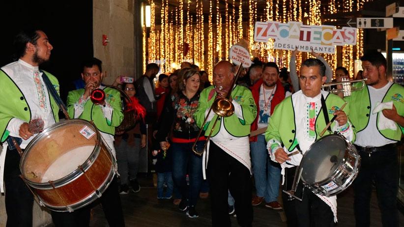 Invita a regiomontanos a visitar Zacatecas con tradicional callejeada
