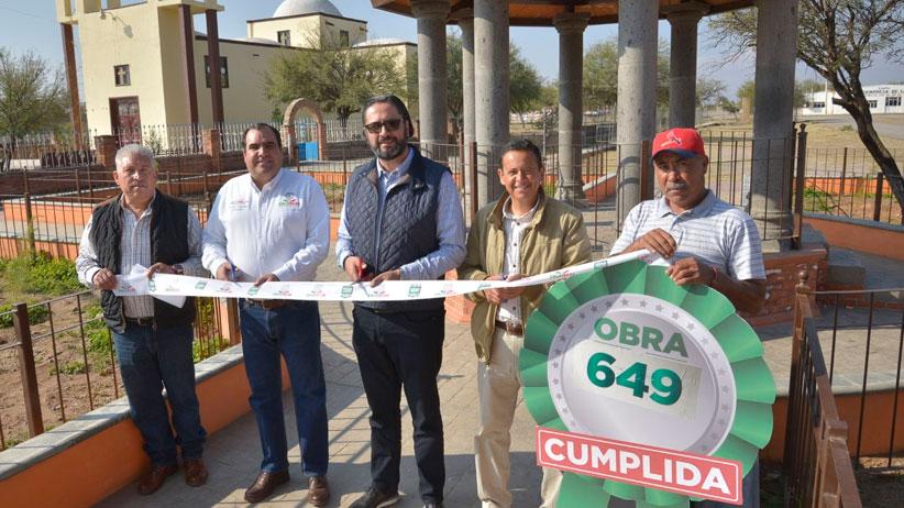 Llevan  beneficios a Guadalupe con Más de Mil Obras para Zacatecas