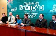 Llevarán  actividades del festival navideño Deslumbrante a 8 regiones de Zacatecas