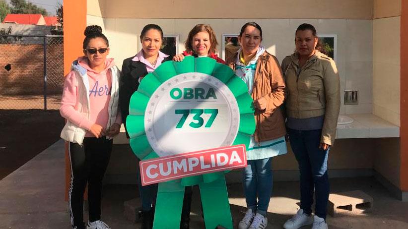 Más de Mil Obras para Zacatecas mejora calidad de vida de habitantes de Noria de Ángeles y Jalpa