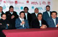 Magna presentación de la Sonora Santanera, los Terrícolas y los Pasteles Verdes en la Feria Estatal de Guadalupe