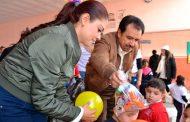 Miguel Torres fomenta la ilusión en la infancia Villanovense