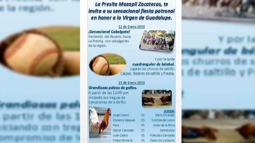 Fiesta patronal de La Presita Mazapìl