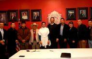 Ofrece Gobernador  respaldo en audiencia a presidentes de federaciones de migrantes zacatecanos