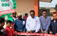 Pinos recibe beneficios del programa Más de Mil Obras para Zacatecas