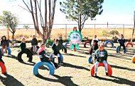 Reciben niños de Enrique Estrada infraestructura educativa con Más de Mil Obras para Zacatecas
