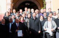 Refrenda Gobernador Tello respeto a la autonomía de las y los Notarios Públicos