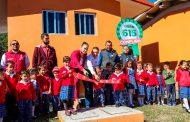 Rehabilitan kínder Vicente Guerrero en la comunidad de Huitzila, en el Teúl de González Ortega