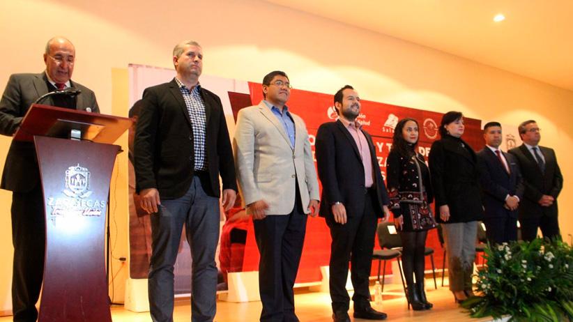 Nombran a Ulises Mejía Haro Presidente de la Red Zacatecana de Municipios por la Salud