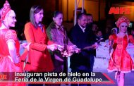 Vídeo de la Inauguración de la Pista de Hielo en la Feria de la Virgen de Guadalupe