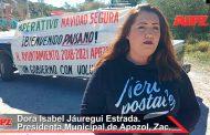 Dora Isabel Jáuregui inauguró el Operativo Navidad Segura
