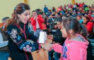 Lleva Gobierno Estatal apoyos invernales a personas vulnerables de seis municipios