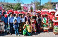 """Danzantes de """"El Visitador"""" obtuvieron el primer lugar en el Concurso Estatal de Matlachines."""