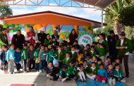 Rehabilitan escuelas y alcantarillado en Ojocaliente