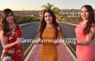Candidatas a Reina de las Fiestas Patronales de García de la Cadena 2018