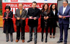Pone en marcha Ulises Mejía primera feria Municipal de Vivienda