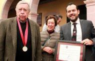 """En Sesión Solemne Zacatecas nombra al Maestro Manuel Felguérez como """"Ciudadano Benemérito"""""""