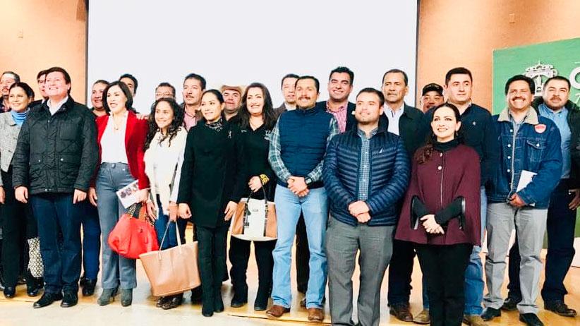 Asiste Dora Isabel Jáuregui Estrada a presentación del Programa Estatal 2019