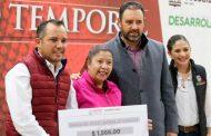 Beneficia Alejandro Tello con becas a más de 1 mil 500 Guadalupenses en situación de desempleo