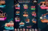 Cartel de Artistas que se Presentarán en la Feria de Trancoso 2019