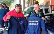 Entrega Dora Isabel Jáuregui  equipamiento para Policías