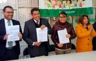 Firman Gobierno Estatal y de Fresnillo convenio para el cuidado del medio ambiente