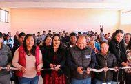 Inauguración de Espacio Alimenticio en San Tiburcio