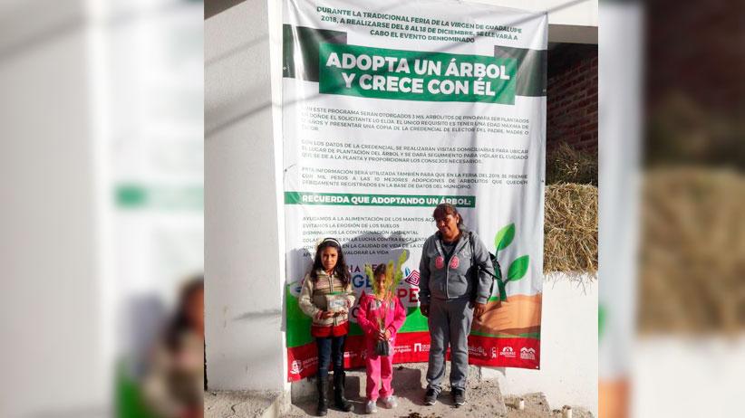 Logra Ayuntamiento de Guadalupe reforestación de casi 10 mil árboles