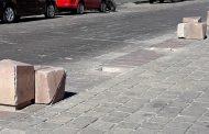Resarcirán costo de daños en Plaza de Armas tras retiro de rueda de la fortuna