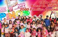Video: Mil boilers, apoyos para Tres Mil familias y becas de $10, 000 para universitarios en Pinos
