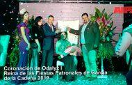 Coronación de Odalyz I como Reina de la Feria Patronal García de la Cadena 2019 -Video-