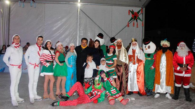 Presentan  el espectáculo Ice Mountain On Ice en Villanueva