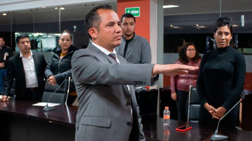 Presidente de Guadalupe  pide licencia, por motivos de Salud.