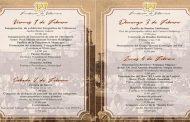 Programa de actividades del 327 Aniversario de Villanueva
