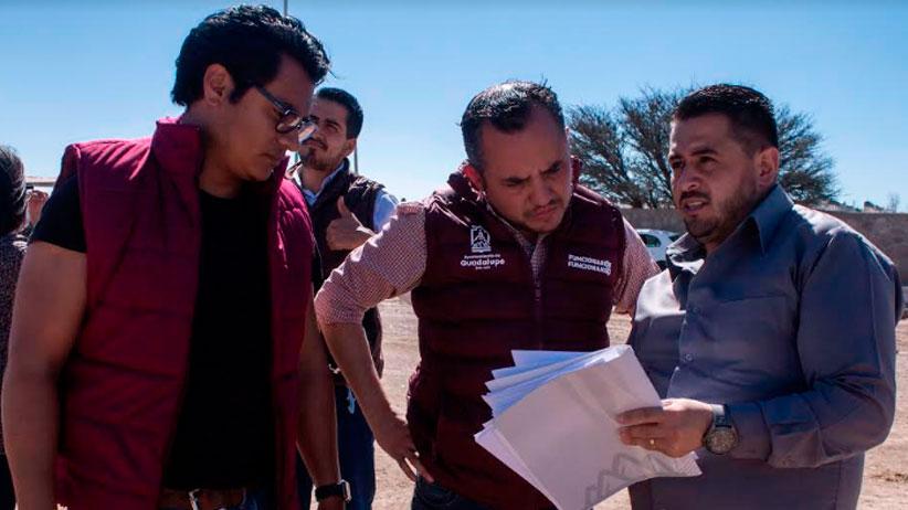 Se construyen media decena de parques en Guadalupe
