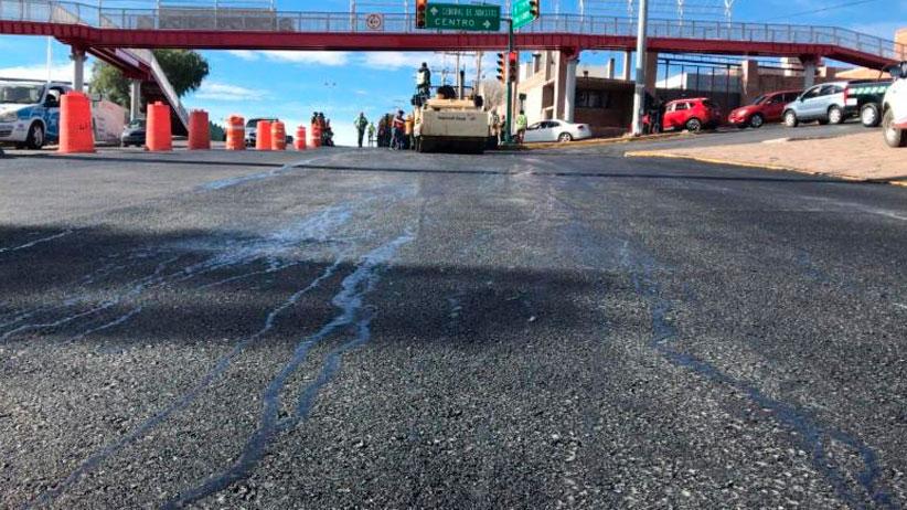 Termina Gobierno Estatal trabajos de Pavimentación de Avenida Reyes Heroles en la Capital