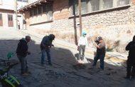 Inicia saneamiento de calles en Villanueva