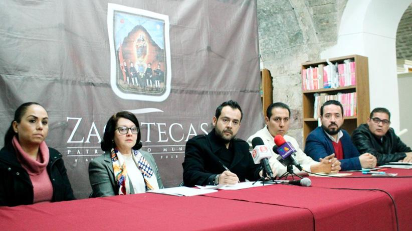 Ulises Mejía Haro, comprometido con fortalecer la cultura en la capital de Zacatecas