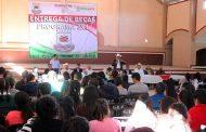 Dignifica Programa 3X1 a comunidades de Francisco R. Murguía y Villa Hidalgo