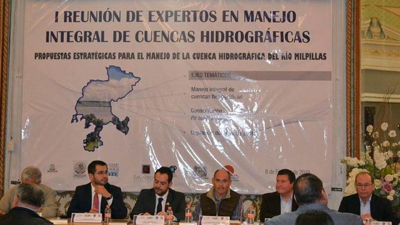 Analizan expertos manejo de cuenca hidrográfica del Río Milpillas