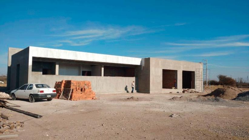 Avanza construcción de Unidad Básica de Rehabilitación en Enrique Estrada