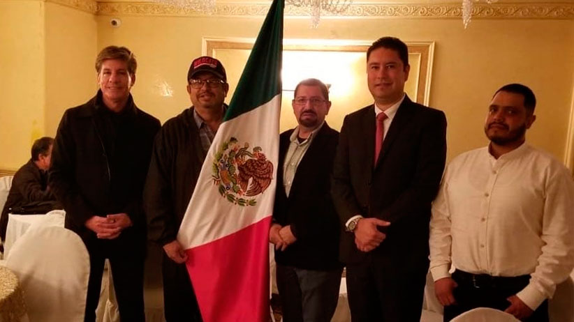 "Formaliza la capital Club Migrante  ""Hacienda el Maguey"" en California"