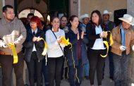 Inauguración los festejos con motivo del 327 aniversario de la fundación de Villanueva