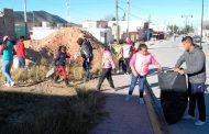 Mazapil organiza campaña de limpieza.