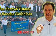 Video: Desfile de bandas y entrevista con Miguel Torres, Alcalde de Villanueva, Zac.