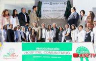 Video: Inauguración del nuevo Hospital Comunitario en Sombrerete