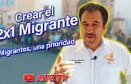 Video: Necesario crear el Programa 2x1 Migrante en Zacatecas
