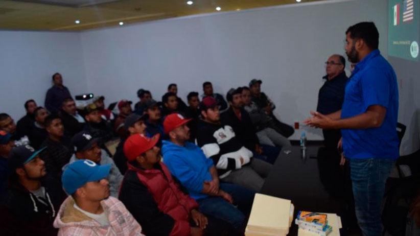Realiza Gobierno Estatal jornada de reclutamiento para que Zacatecanos vayan a trabajar a Estados Unidos