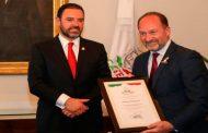 Recibe Tello a delegación de Orihuela, España, ciudad hermana de Zacatecas